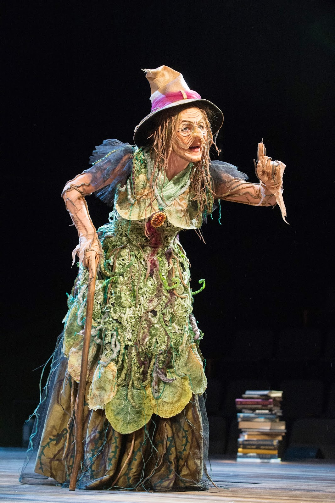 Becoming the Witch in Into the Woods | PlayMakers ...