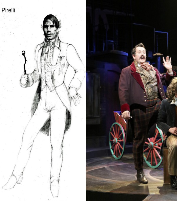 Sweeney Todd Preliminary sketches-A