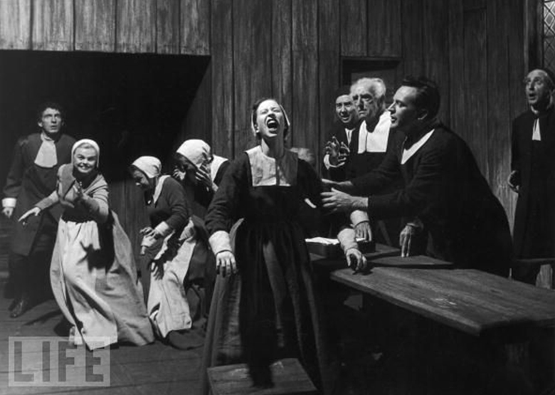 the mccarthy trials and the crucible