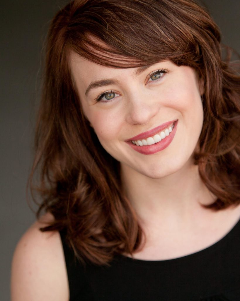 Jenny Latimer stars as Amalia Balash in PlayMakers' production of 'She Loves Me.'