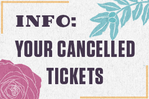 What do do with your cancelled tickets
