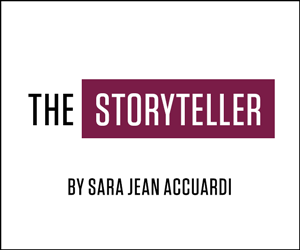 THE STORYTELLER by Sarah Jean Accuardi
