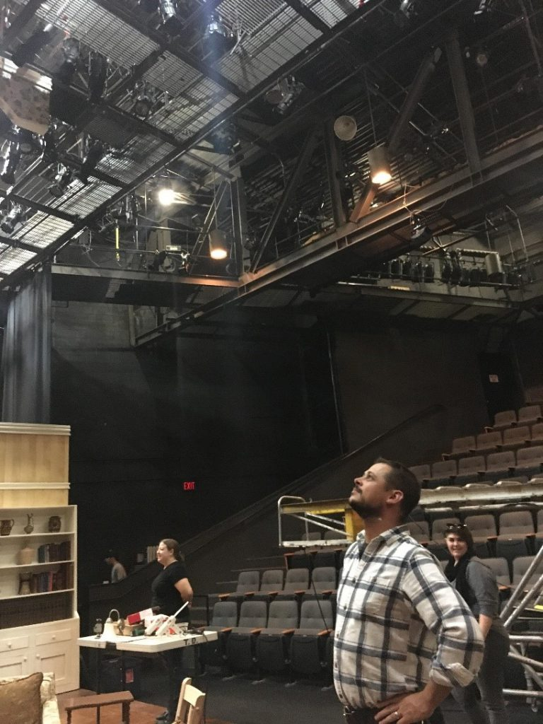 Dominic Abbenante, Master Electrician, Resident Lighting Designer at PlayMakers Repertory Company
