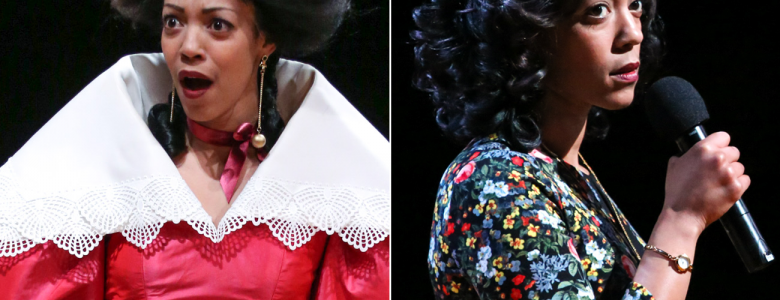 Nemuna Ceesay in 'Tartuffe' and 'The Christians' in rep at PlayMakers Repertory Company. Photo by HuthPhoto.