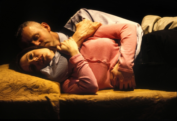 """Mary Louise-Parker and David Morse in """"How I Learned to Drive"""" at the Vineyard Theatre in 1997. (Photo by Carol Rosegg)"""