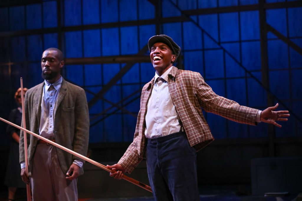 "Amadio as Buddy in Nambi E. Kelley's ""Native Son"" at PlayMakers Repertory Company. (HuthPhoto)"