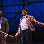 """Amadio as Buddy in Nambi E. Kelley's """"Native Son"""" at PlayMakers Repertory Company. (HuthPhoto)"""