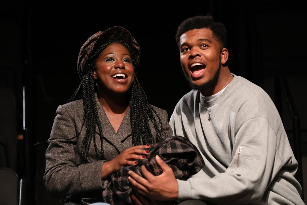 11_AnnEliza Canning as Sarah and Fergie L. Philippe as Coalhouse in RAGTIME at PlayMakers_Directed by Zi Alikhan_HuthPhoto