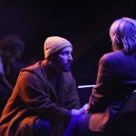 13_Adam Poole as Tateh with Juila Gibson as Little Girl in RAGTIME at PlayMakers_Directed by Zi Alikhan_HuthPhoto